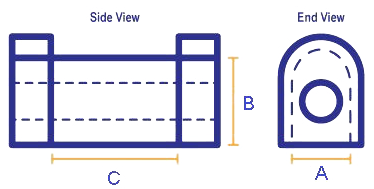 sway bar bushing diagram