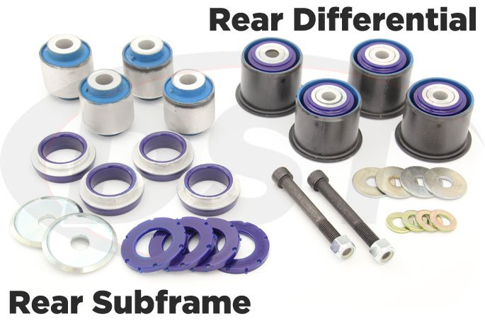 15-17 mustang rear differential and rear subframe bushing kits
