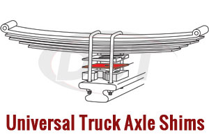 Universal Leaf Spring Axle Shims