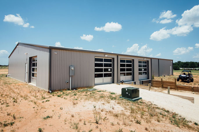 new warehouse construction finished