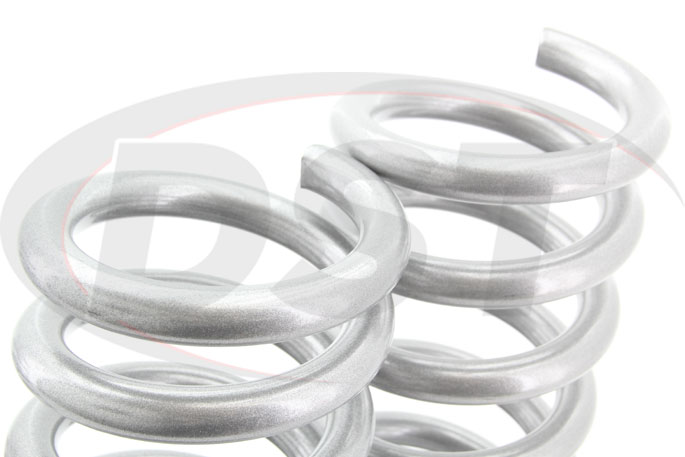 linear rate lowering coil springs