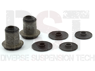 MOOG-K7104 Front Upper Control Arm Bushings - 1.5 Degree Adjustable