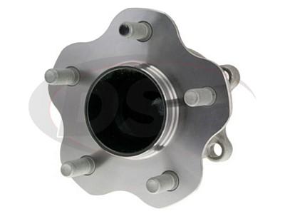 MOOG-512407 Rear Wheel Bearing and Hub Assembly