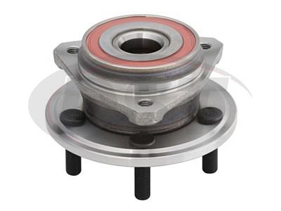 MOOG-513158 Front Wheel Bearing and Hub Assembly