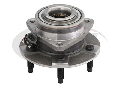 MOOG-513189 Front Wheel Bearing and Hub Assembly