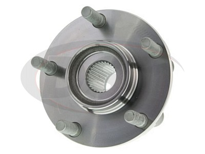 MOOG-513298 Front Wheel Bearing and Hub Assembly
