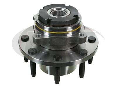 MOOG-515021 Front Wheel Bearing and Hub Assembly
