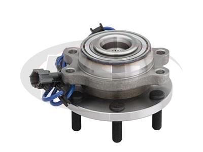 MOOG-515065 Front Wheel Bearing and Hub Assembly