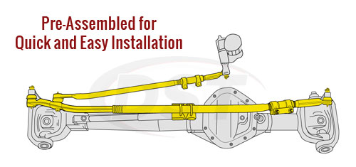 Complete Tie Rod End Assembly