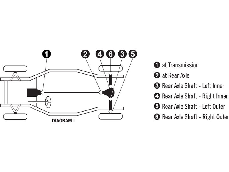 u joint diagram corvette