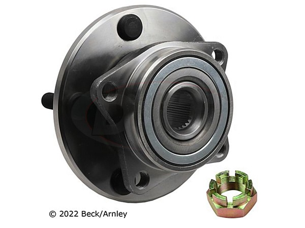 beckarnley-051-6121 Front Wheel Bearing and Hub Assembly