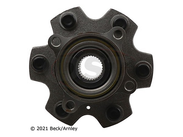 beckarnley-051-6175 Front Wheel Bearing and Hub Assembly