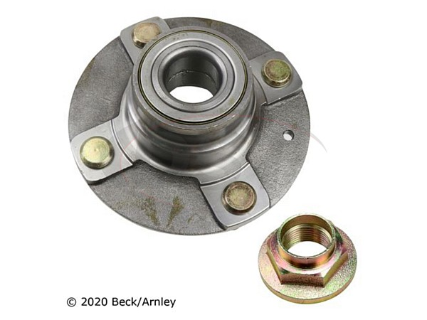 beckarnley-051-6206 Rear Wheel Bearing and Hub Assembly