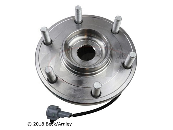 beckarnley-051-6268 Front Wheel Bearing and Hub Assembly