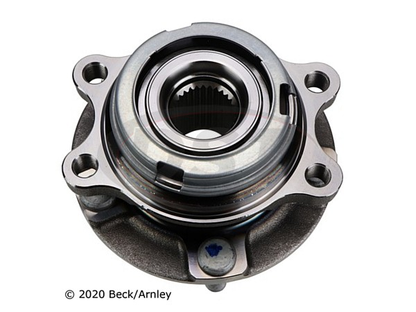beckarnley-051-6294 Front Wheel Bearing and Hub Assembly