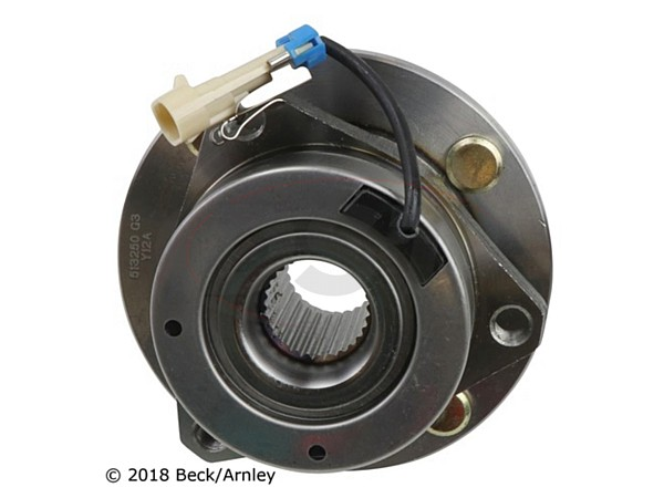 beckarnley-051-6299 Front Wheel Bearing and Hub Assembly