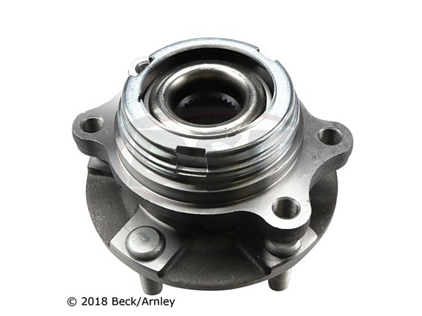 beckarnley-051-6336 Front Wheel Bearing and Hub Assembly