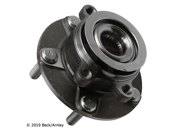 beckarnley-051-6343 Front Wheel Bearing and Hub Assembly