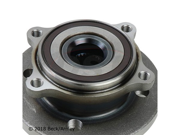 beckarnley-051-6356 Front Wheel Bearing and Hub Assembly