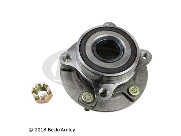 beckarnley-051-6357 Front Wheel Bearing and Hub Assembly