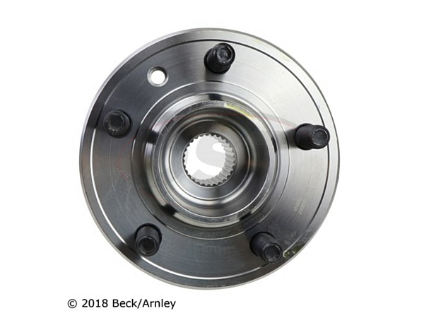 beckarnley-051-6358 Front Wheel Bearing and Hub Assembly