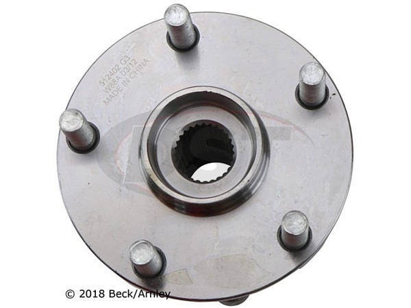beckarnley-051-6360 Rear Wheel Bearing and Hub Assembly