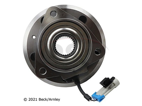 beckarnley-051-6384 Front Wheel Bearing and Hub Assembly