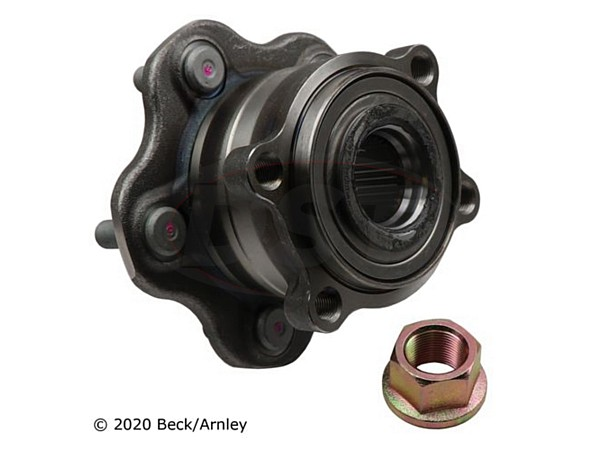 beckarnley-051-6390 Rear Wheel Bearing and Hub Assembly