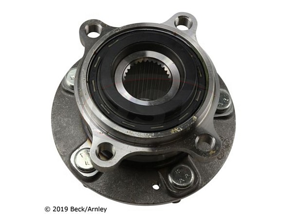 beckarnley-051-6455 Front Wheel Bearing and Hub Assembly