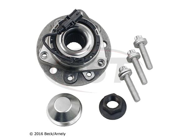 beckarnley-051-6207 Rear Wheel Bearing and Hub Assembly