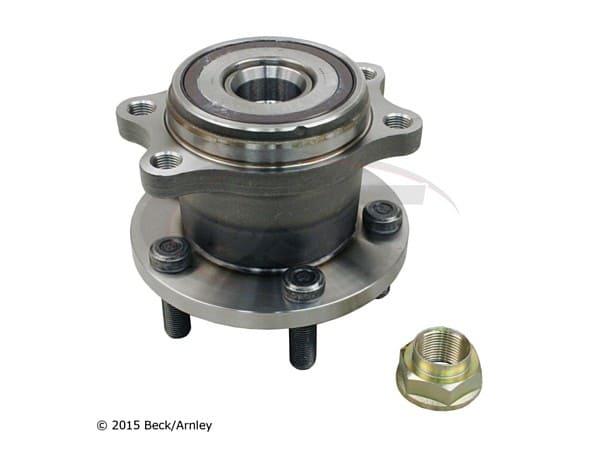 beckarnley-051-6259 Rear Wheel Bearing and Hub Assembly