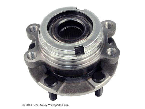 beckarnley-051-6349 Front Wheel Bearing and Hub Assembly