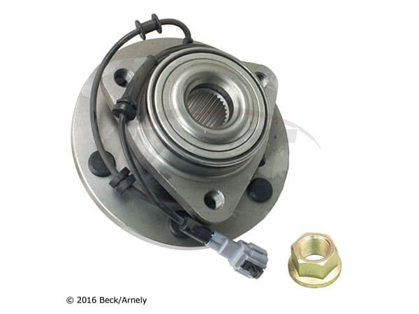 beckarnley-051-6410 Front Wheel Bearing and Hub Assembly