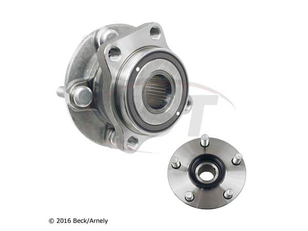beckarnley-051-6461 Front Wheel Bearing and Hub Assembly