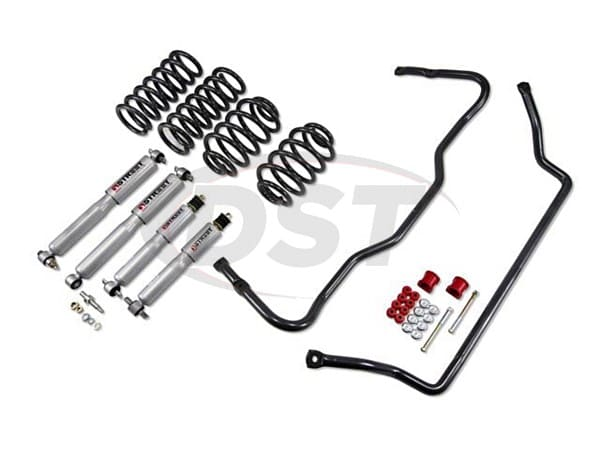 Chevrolet Impala 1996 SS Front and Rear Sway Bars with Lowering Kit - 1.5 inch Front and 1.5 inch Rear Drop