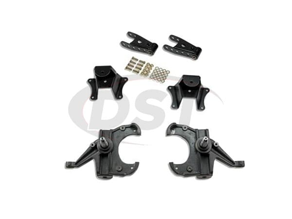 belltech belltech-704 lowering kit 2 inch front and 4 inch rear