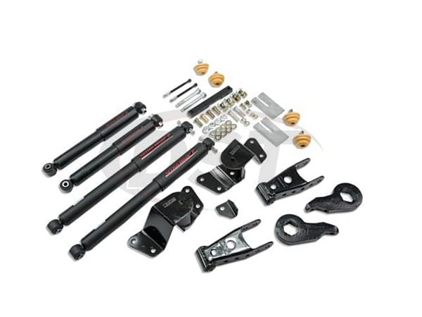 Premium N20 Lifted Struts 23023 as well Belltech 730sp additionally 1431904 moreover What Size Bolt On 2001 F250 Torsion Bar besides Steering column. on 3 4 drop on silverado
