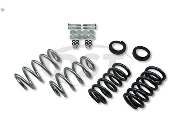 belltech belltech-934 lowering kit adjustable front and 3 inch rear