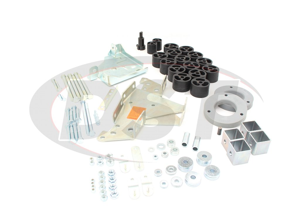 4002101 4 Inch Lift Kit - Silverado 1500 Gas - 4.0 Tactical Lift