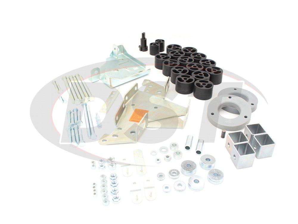 4002101 4 Inch Lift Kit - Silverado 1500 Gas - 4.0 Tactical Lift