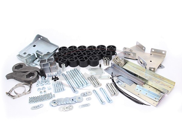 4002309 4 Inch Lift Kit - HD2500/HD3500 Diesal - 4.0 Tactical Lift