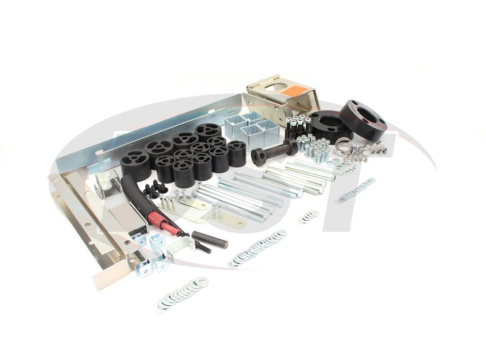 4004101 4 Inch Lift Kit - Tacoma EXCEPT TRD PRO - 4.0 Tactical Lift