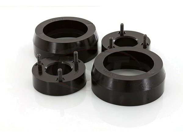 Front and Rear Coil Spring Spacers - 2 Inch
