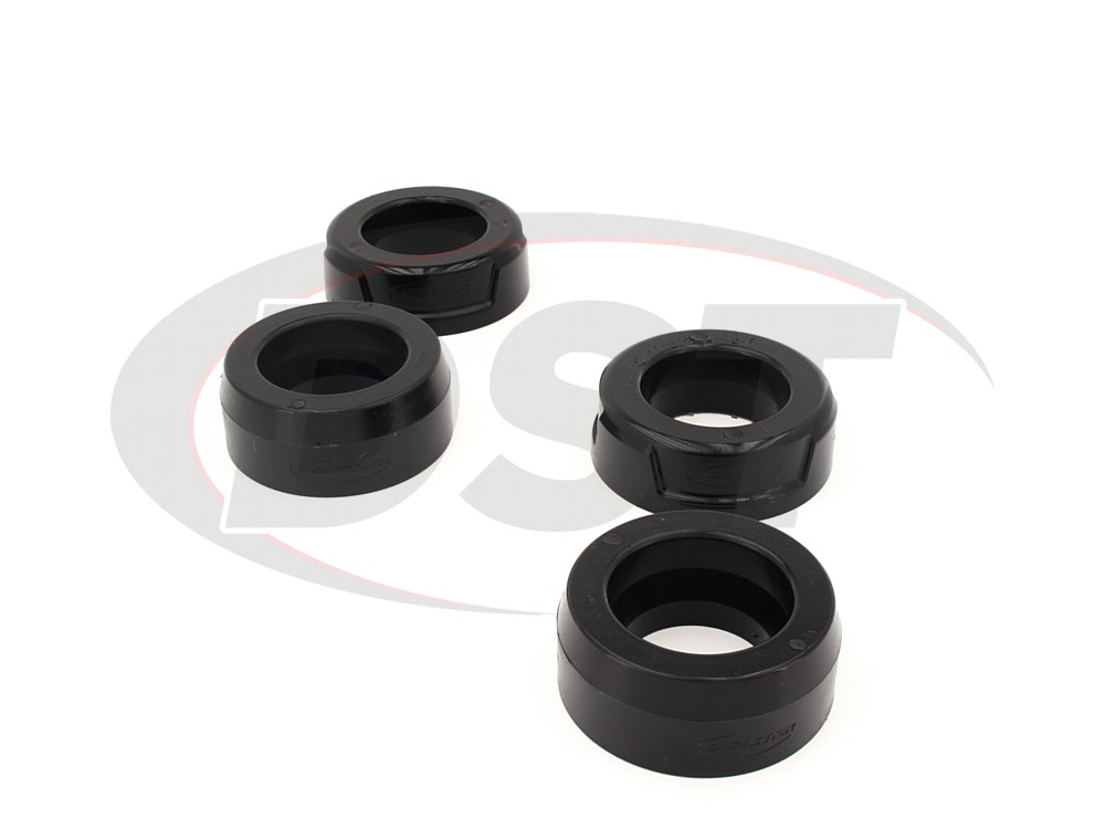 KC09141BK 2 Inch Front and Rear Coil Spring Spacer Lift Kit - 2WD/NON-AIR RIDE