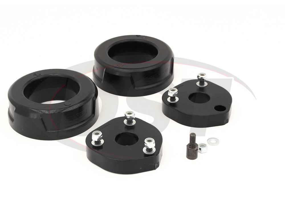 KC09146BK 2.5 Inch Front and Rear Coil Spring Spacer Lift Kit - Rebel Only - 4WD/NON-AIR RIDE
