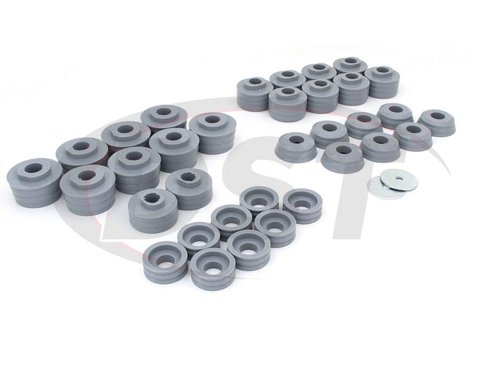 kf04050kv Body Mount Bushings Kit - Kevlar