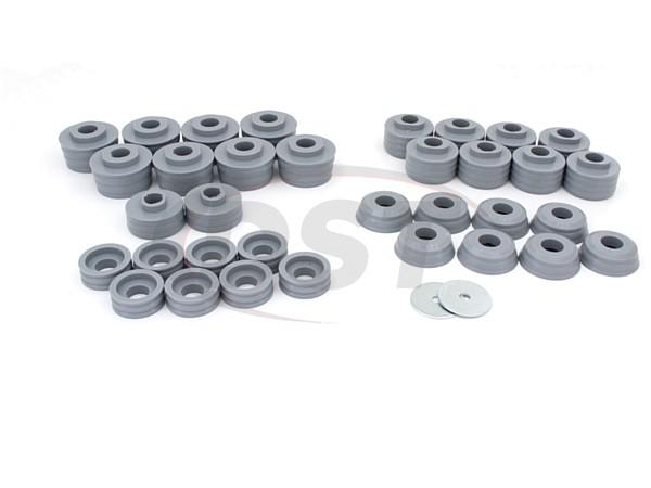 Body Mount Bushings Kit - Kevlar