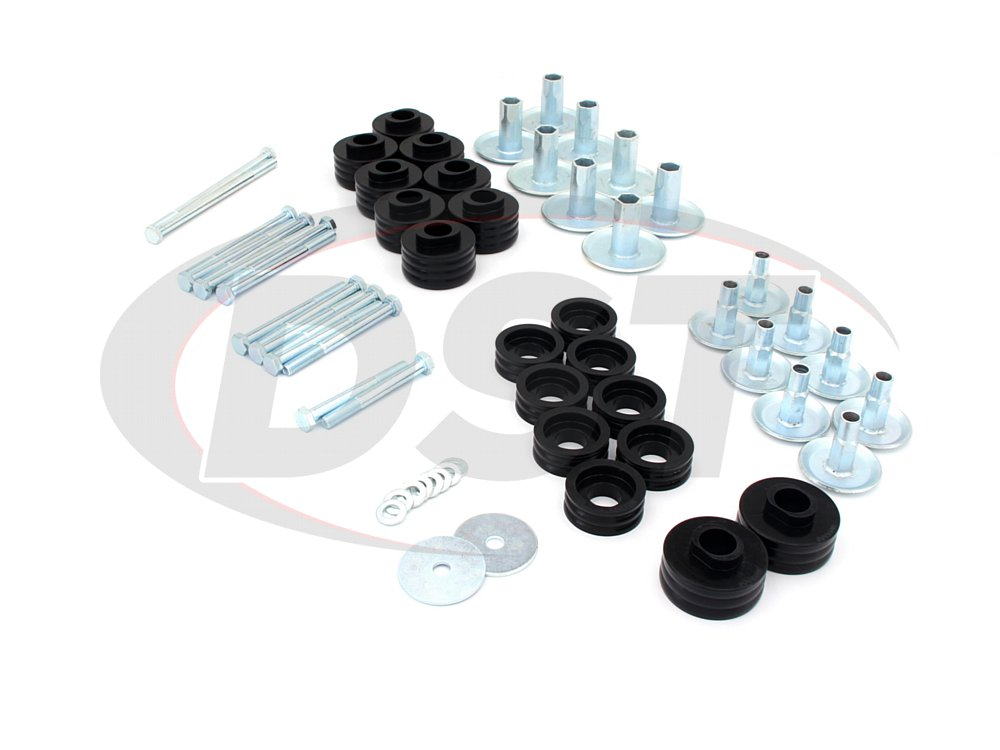 kf04060bk Ford Super Duty F-250, F-350 Body Bushings, Steel Sleeves, and Hardware