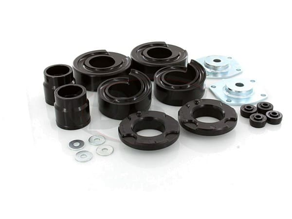 Front and Rear Coil Spacer Kit - 2 Inch