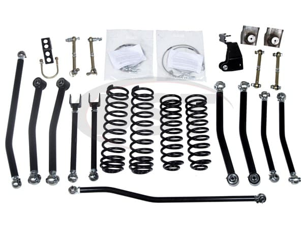 Low Center of Gravity Lift Kit - 3 Inch - JK Wrangler